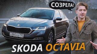 Она вам больше не бюджетник! Skoda Octavia A8 | Наши тесты