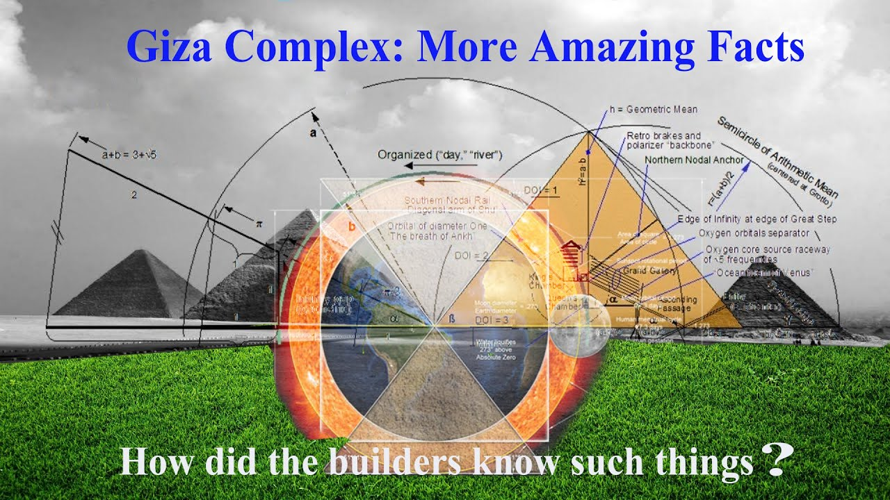 Giza Complex More Amazing facts   How did the builders know?