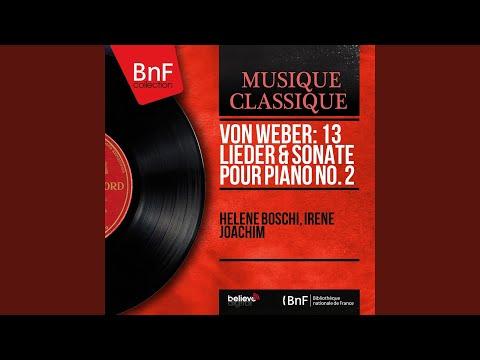 6 Lieder, Op. 47: No. 1, Die gefangenen Sänger, J. 197