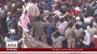 لحظة التحرش بالمذيعة حياة الدرديري و الجيش ينقذها +18