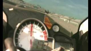 Prova comparativa BMW S1000RR contro Aprilia RSV4 a Valencia.wmv