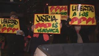 Familiares de detenidos en penal Punta Peuco protestan contra su eventual cierre
