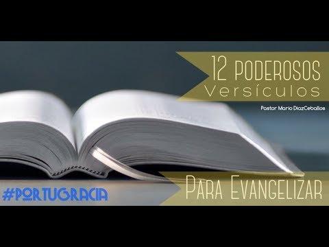 12 Poderosos versiculos para evangelizar