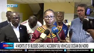 4 morts et 51 blessés dans l'accident du véhicule Océan du nord