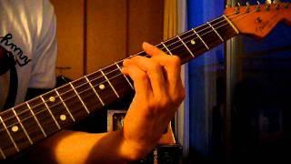 おニャン子クラブのアンブレラ・エンジェルのギターバッキング・ソロの...
