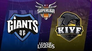 SUPERLIGA ORANGE-Jornada 4-Kiyf eSports Club vs Giants Only The Brave-Mapa 1-#SUPERLIGAORANGELOL4