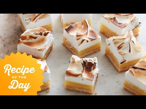 Recipe of the Day: Lemon Meringue Bars | Food Network