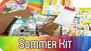 Monatskit August für Karten und Mini-Alben: Sommer | ab sofort erhältlich