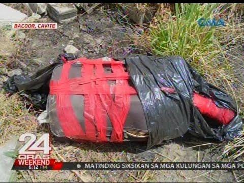 24 Oras: Maletang may lamang bangkay at shabu, iniwan sa harap ng bodega