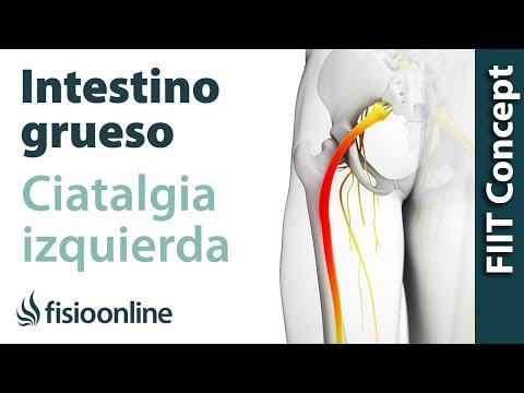 Izquierda izquierdo dolor en el lado pierna de la
