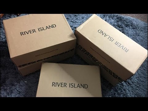 RIVERISLAND UNBOXUNG SHOES AND TRY ON