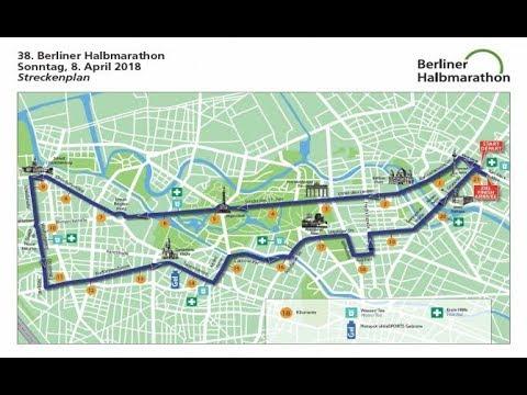 08.04.2018 Berlin Halbmarathon Inline Skating Damen Block A Herren A B   www.merktsports.de
