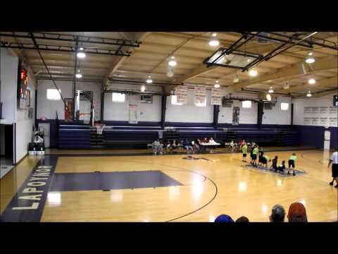 Matts 3rd Basketball game