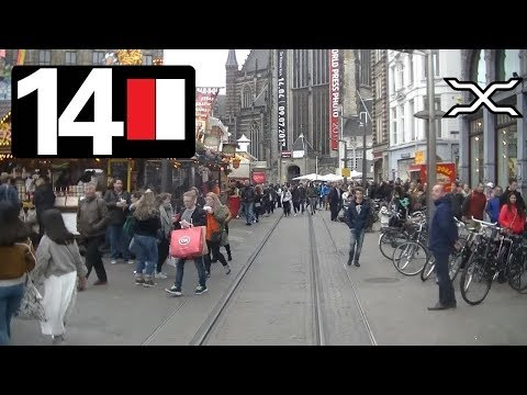 🚋 GVB Amsterdam Tramlijn 14 Cabinerit Flevopark - Slotermeer Driver