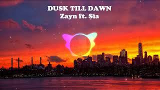 Dusk Till Dawn  -Zayn ft.Sia | bass boosted | 320kbps audio | use earphones |audio spectrum-visual.