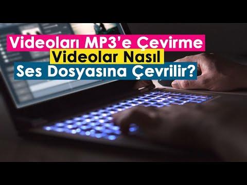 Videoları MP3'e Çevirme | Videolar Nasıl Ses Dosyasına Çevrilir?