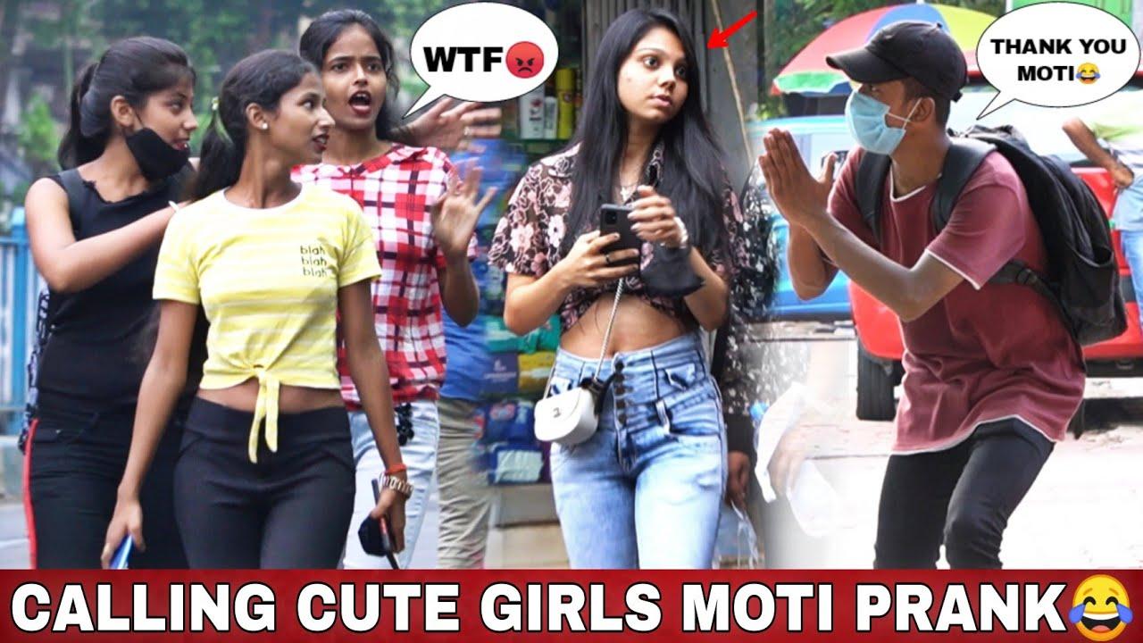 CALLING CUTE GIRLS MOTI PRANK 😂   EPIC REACTIONS 😂   VINE HUNT   FUNNY LANGUAGE PRANK  