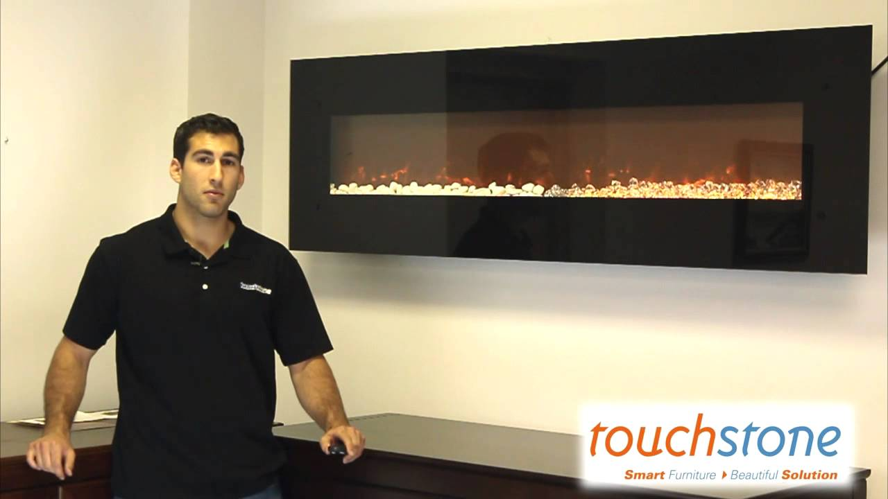 Watch the Touchstone OnyxXL Electric Fireplace