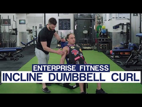 How To Do A Incline Dumbbell Curl Correctly
