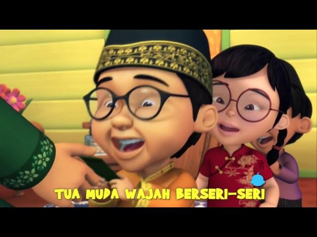 Upin & Ipin  - Selamat Hari Raya   -  Reverse video