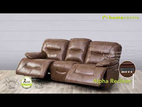 Recliners from Home Centre now at FLAT 40% OFF AT GRAND SOFA FEST. Only till November 25.