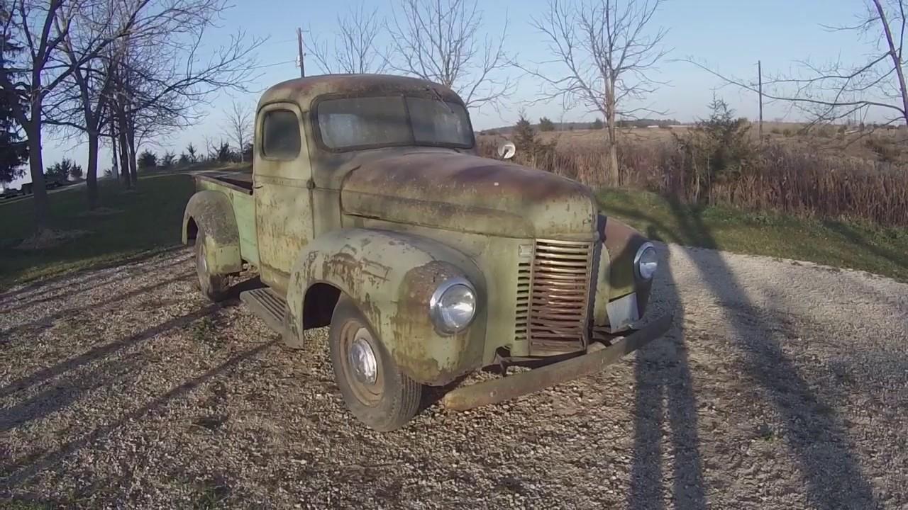 1941 International Pick Up Truck 1 2 Ton Original Survivor Youtube Ford