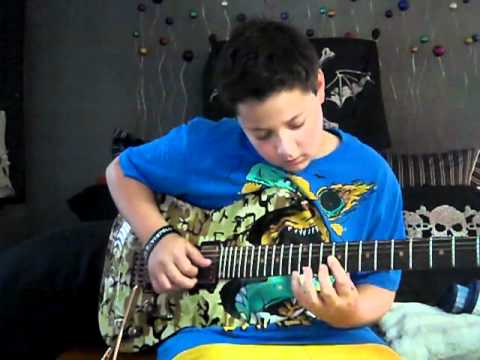Unwind the Chainsaw (Syn's Live Solo)- Avenged Sevenfold (guitar cover)