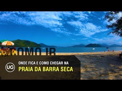 Praia da Barra Seca, Ubatuba SP: Onde fica e Como chegar
