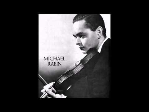 """Michael Rabin """"Violin Sonata"""" Carpenter"""