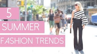 5 Summer Fashion Trends | Fashion Over 40