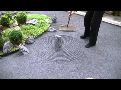 Japanese Zen garden ASMR / Meditation 禅の庭