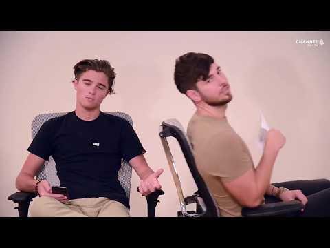 Australian accent VS British accent with Jacob & JJ I 104.8 Channel 4