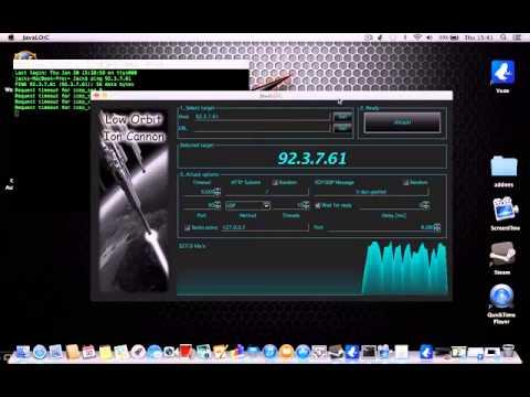 LOIC on MAC [download+tut]