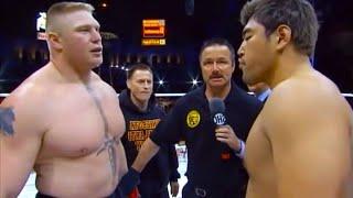 Brock Lesnar (USA) vs Min Soo Kim (South Korea) | KNOCKOUT, MMA fight, HD