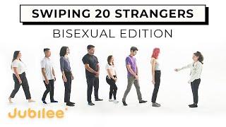 1 Bisexual Woman Swipes 20 Men and Women
