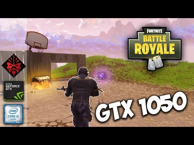 HP Omen 15  Fortnite Battle Royale Gameplay AUTO/High settings | GTX 1050 2GB | i5 7300HQ