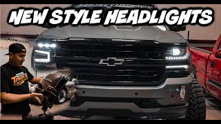 2020 STYLE HEADLIGHTS ON 2016 SILVERADO Z71 ( Headlight Revolution)