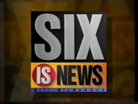 WITI - Fox is Six Six is News bumper [5 sec] (1995)