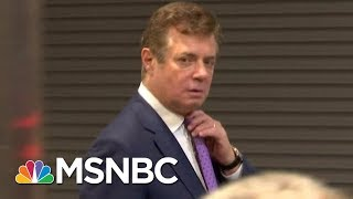 Who Was Paul Manafort Before The Donald Trump Campaign?   MSNBC 2017 Video