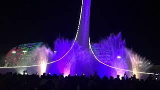 Шоу поющих фонтанов в Олимпийском парке! Очень красиво!)))