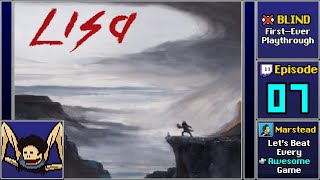 LISA The Painful RPG Episode 7 Blind - Peter