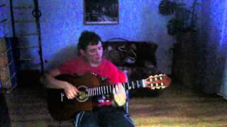 "Музыка из фильма ""Крестный отец"" на гитаре. Cover. Main theme ""The Godfather"" on the guitar."