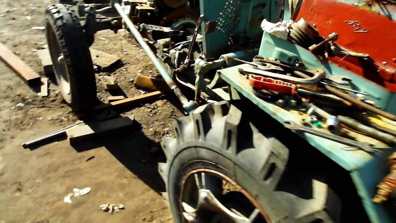 Как сделать сцепления на самодельном тракторе 99