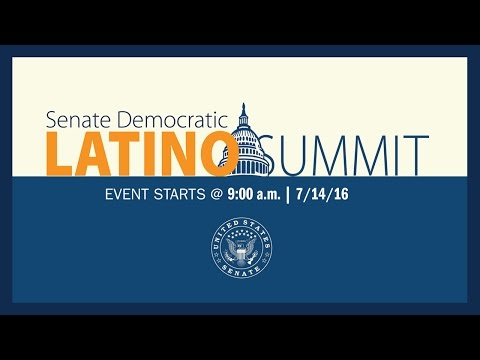 Senate Democratic Latino Summit: The Rise of the Latino Electorate