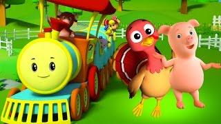 Rig A Jig Jig | Rimes pour les enfants | Chanson pour enfants | Nursery Song | Kids Song Compilation