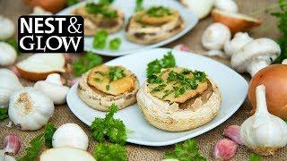 Quinoa Garlic Mushrooms no music