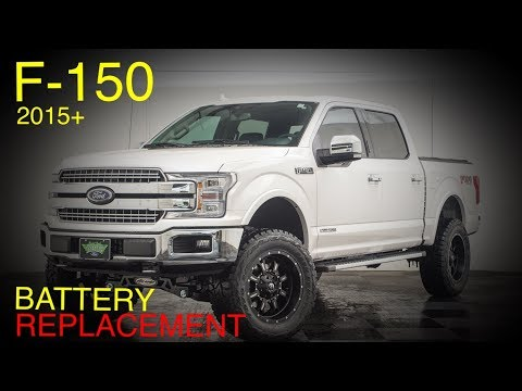 Ford F-150 Battery Replacement Guide (2015+)