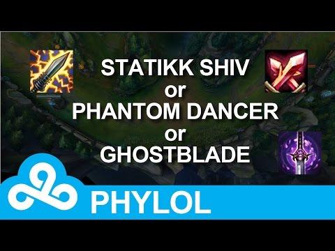 Statikk Shiv, Phantom Dancer or Ghostblade? When to buy which