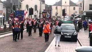 Newtown Defenders FB Irvine, walking Lanark