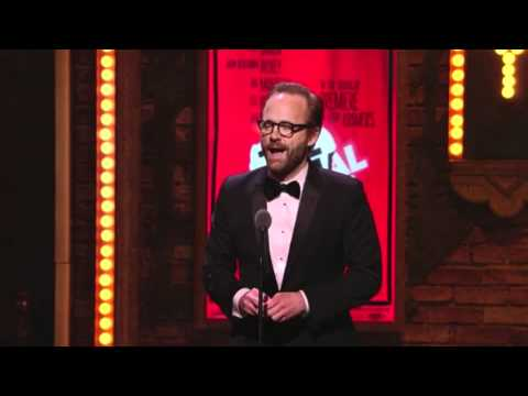 Tony Awards 2011 Acceptance Speech  John Benjamin Hickey